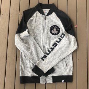 Boston Celtics Zip-Up Sweater